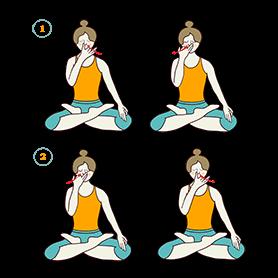 Alternate Nostril Breathing (Nadi Shodhana)