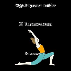 crescent low lunge pose yoga anjaneyasana  yoga