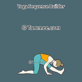 Half Splits Pose Ardha Hanumanasana Sanskrit Tummee Com