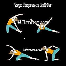bird pose sequence yoga  yoga sequences benefits