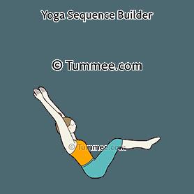 boat pose variation 1 arms overhead yoga navasana
