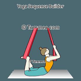 ardha dhanurasana yoga half bow pose  yoga sequences