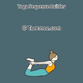 bow pose variation 2 dhanurasana variation 2 yoga