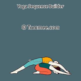 huddle pose yoga  yoga sequences benefits variations