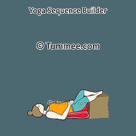 supta baddha konasana yoga reclining bound angle pose