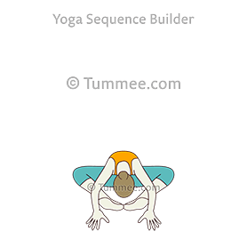 balancing bound angle pose yoga dandayamana baddha