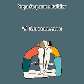 camel pose partner ustrasana partner variations  43