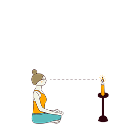 Candle Gazing (Trataka)