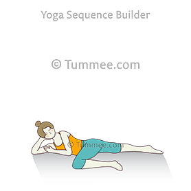 cat tail pulling pose a yoga  yoga sequences benefits