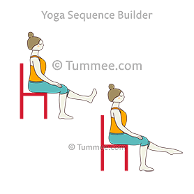 chest expansion in chair yoga  yoga sequences benefits