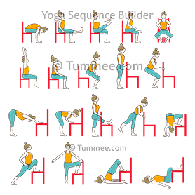 Chair Hip Opening And Strength Flow Yoga Yoga Sequences Benefits Variations And Sanskrit Pronunciation Tummee Com