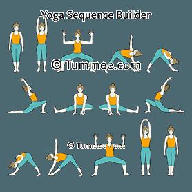 Moon Salutation Yoga Chandra Namaskar Yoga Sequences Benefits Variations And Sanskrit Pronunciation Tummee Com