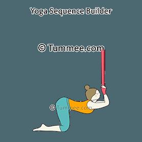 kneeling yoga poses  450 kneeling yoga poses to plan