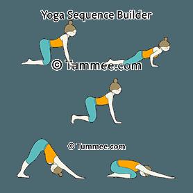hovering cat pose yoga hovering marjaryasana  yoga