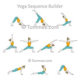 dancing warrior sequence yoga dancing virabhadrasana