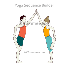 Double Dancer Pose Yoga Yoga Sequences Benefits Variations And Sanskrit Pronunciation Tummee Com