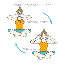 easy pose balancing aura yoga sukhasana balancing aura