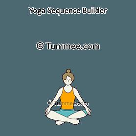 easy pose variation arms knees yoga sukhasana variation