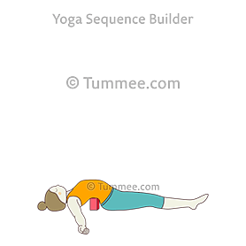 fish pose yoga matsyasana  yoga sequences benefits