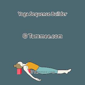 fish pose blocks yoga matsyasana blocks  yoga sequences