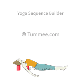fish pose yoga matsyasana  yoga sequences benefits