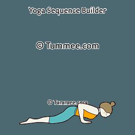 eight limbed pose yoga ashtangasana  yoga sequences