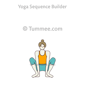 garland pose with hands under heels yoga malasana with
