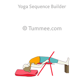 two legged inverted staff pose variation yoga dwi pada