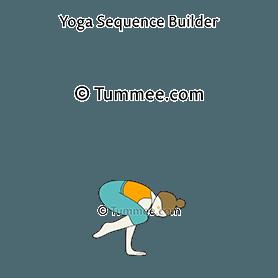 crow pose yoga kakasana  yoga sequences benefits
