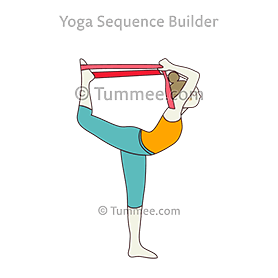 dancer yoga pose benefits  yogawalls