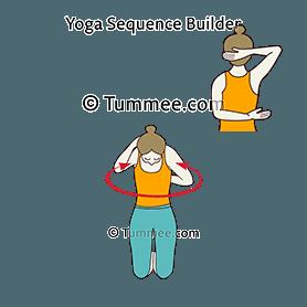 Сamel pose blocks yoga ustrasana blocks  yoga sequences