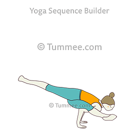 Twisted One Legged Arm Balance Pose I Yoga Eka Pada Koundinyasana I Yoga Sequences Benefits Variations And Sanskrit Pronunciation Tummee Com