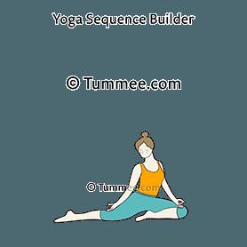 half pigeon pose yoga ardha kapotasana  yoga sequences