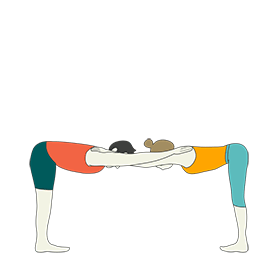 yoga sequence for teens with partners  tummee