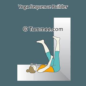 waterfall block under sacrum yoga  yoga sequences