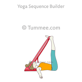 viparita karani yoga legs up the wall pose  yoga