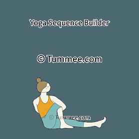 marichi pose iii yoga marichyasana iii  yoga sequences