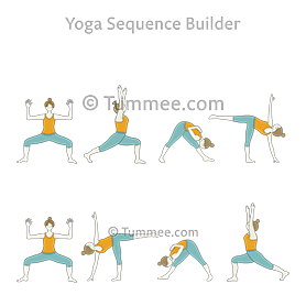 Moon Salutation Variation A Yoga Chandra Namaskar Variation A Yoga Sequences Benefits Variations And Sanskrit Pronunciation Tummee Com