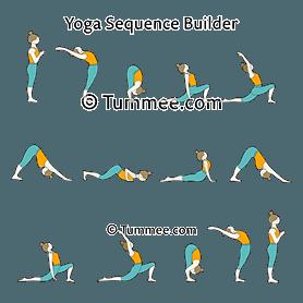 Moon Salutation Variation D Yoga Chandra Namaskar Variation D Yoga Sequences Benefits Variations And Sanskrit Pronunciation Tummee Com