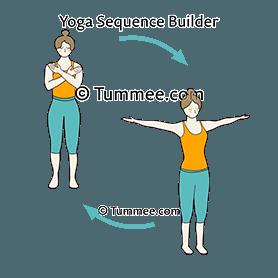 tadasana yoga mountain pose  yoga sequences benefits