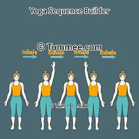 mountain pose variation alternative arm raise flow yoga