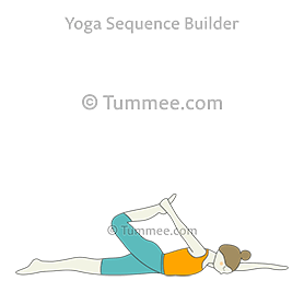 side bow pose yoga parsva dhanurasana  yoga sequences