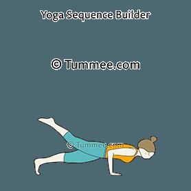 four limbed staff pose yoga caturanga dandasana  yoga