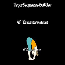 hand to big toe pose yoga padangusthasana  yoga