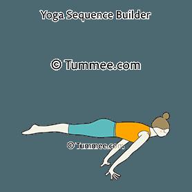 plank pose balance yoga  yoga sequences benefits