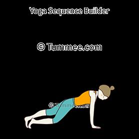 swan pose yoga hamsasana  yoga sequences benefits