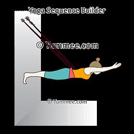 forearm plank pose elbows strap yoga phalakasana ii