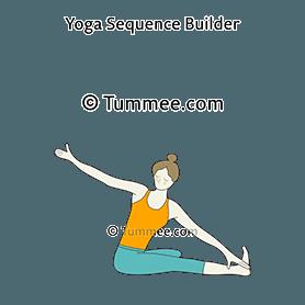 10 parivrtta janu sirsasana variations  yoga poses