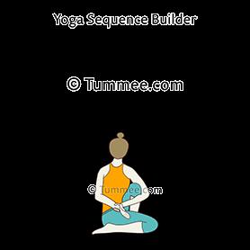 sage marichi pose c yoga marichyasana c  yoga sequences
