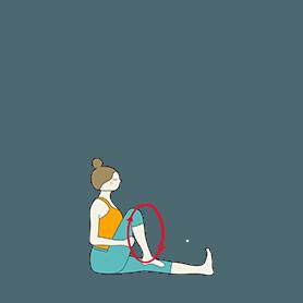Seated Knee Rotation